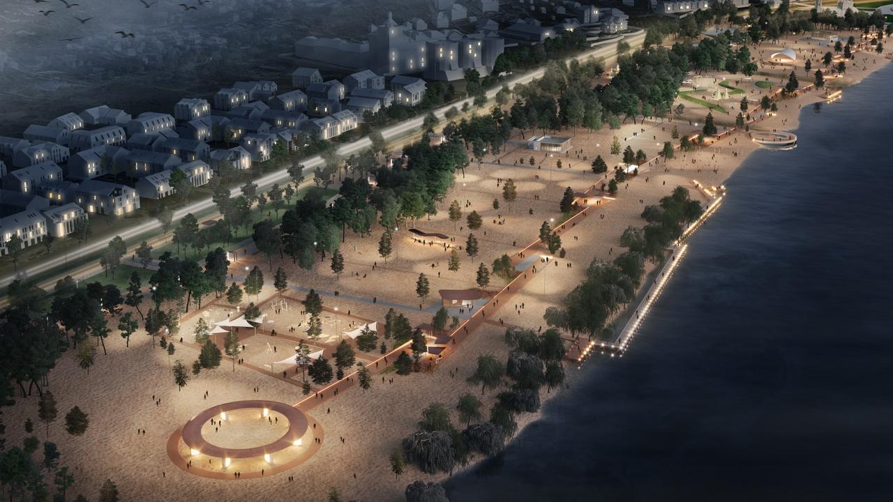 Воронежцам показали проект 2 очереди реконструкции Петровской набережной - фото 1