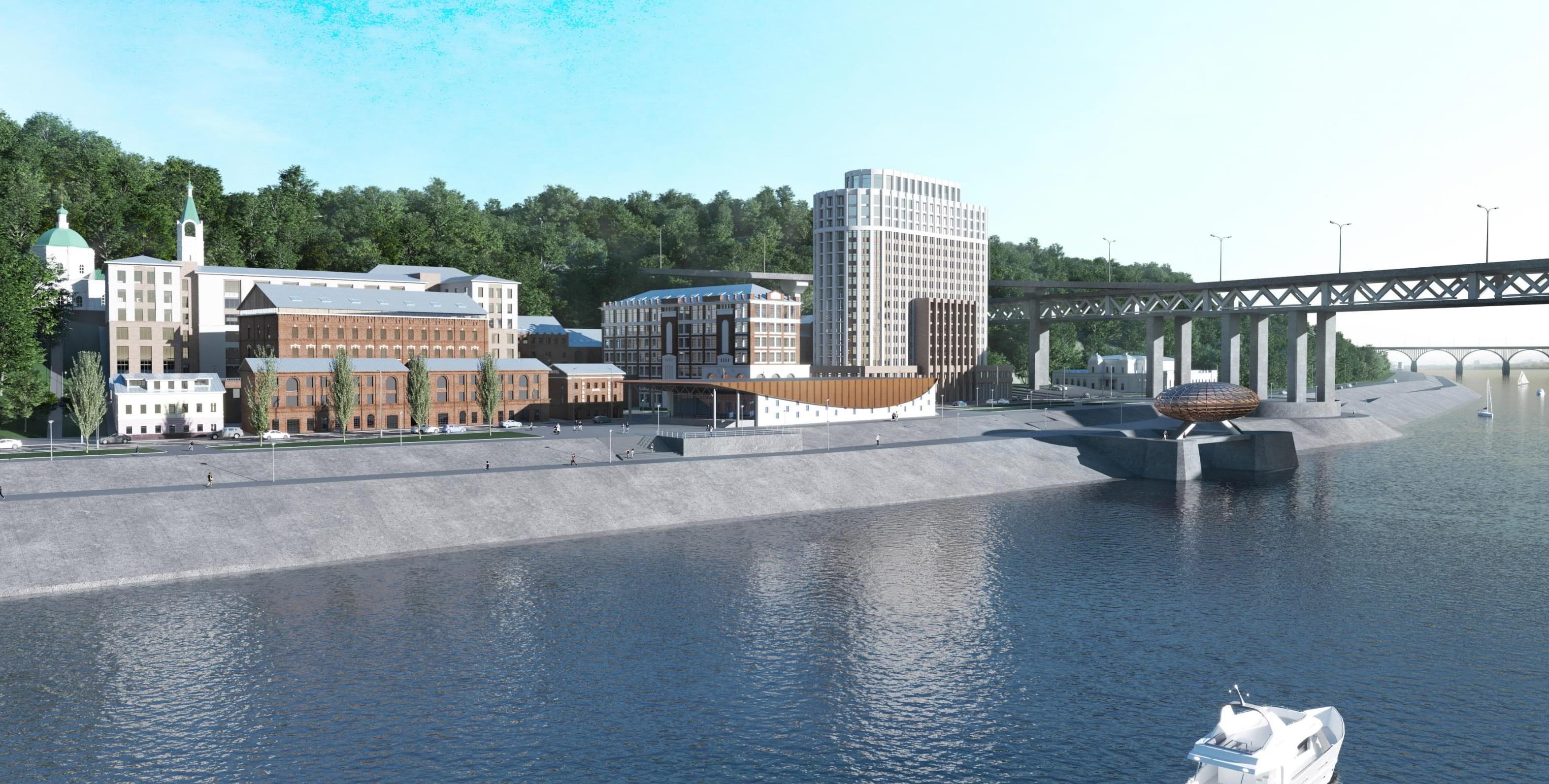 Первая ивент-площадка  появится на улице Черниговской уже в 2019 году в рамках проекта редевелопмента