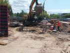 Ход строительства дома № 1 в ЖК Огни Автозавода - фото 13, Июль 2021