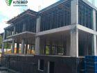 Ход строительства дома № 1 в ЖК Клевер - фото 112, Август 2018