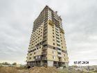 Ход строительства дома Литер 6 в ЖК Южный Берег - фото 1, Июль 2020