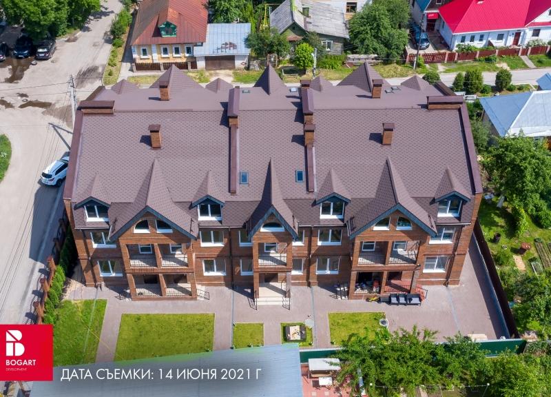Дом Балхашская, 20 (114,4 - 123,3 м2) в КП BOGART (БОГАРТ) Балхашская, 20 - фото 3