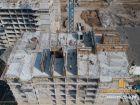 Ход строительства дома Литер 1 в ЖК Звезда Столицы - фото 73, Март 2019