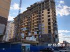 Ход строительства дома Литер 1 в ЖК Династия - фото 29, Октябрь 2019