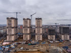 Ход строительства дома Литер 1 в ЖК Звезда Столицы - фото 27, Январь 2020