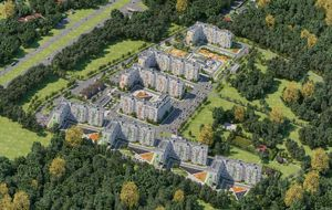 Специальная цена 55 000 руб./кв. м на все 3-комнатные квартиры площадью 76,8 кв. м, расположенные в 9 стр. позиции