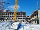 Ход строительства дома № 1 в ЖК Покровский - фото 39, Март 2021