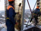 Ход строительства дома Литер 1 в ЖК Первый - фото 141, Январь 2018