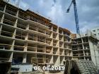 Ход строительства дома Литер 2 в ЖК Династия - фото 41, Июнь 2019