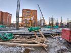 Каскад на Сусловой - ход строительства, фото 45, Декабрь 2016