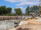 Ход строительства дома № 2 в ЖК Дома на Культуре - фото 11, Июль 2021