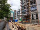 Ход строительства дома №1 в ЖК Премиум - фото 45, Июнь 2018