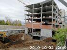 ЖК Волна - ход строительства, фото 98, Октябрь 2019
