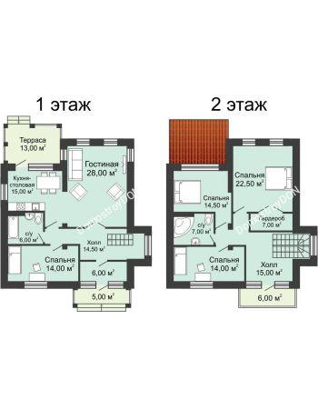 5 комнатная квартира 172,97 м² в КП Щепкин Союз, дом Тип 9, 172.97 м²