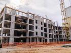 Ход строительства дома № 16 в ЖК Город времени - фото 1, Сентябрь 2021