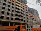 Ход строительства дома № 2 в ЖК Аврора - фото 33, Октябрь 2019