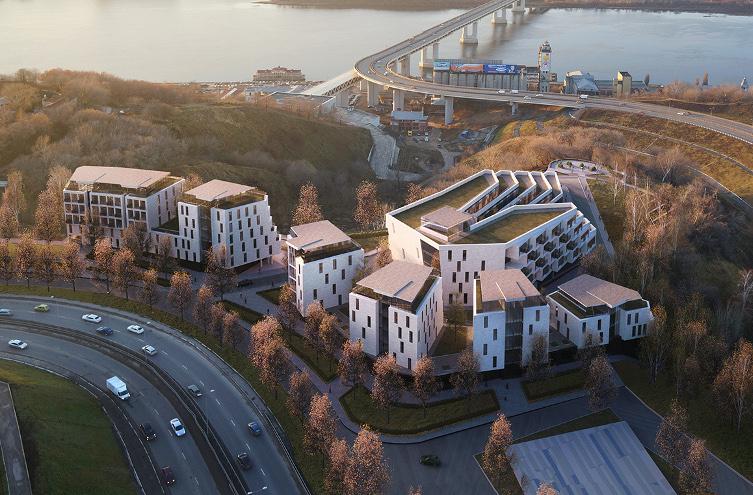 Гостиничный комплекс с апартаментами на ул.Шевченко,1 - фото 1
