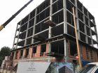 Ход строительства дома № 1 в ЖК TRINITY (Тринити) - фото 56, Сентябрь 2017