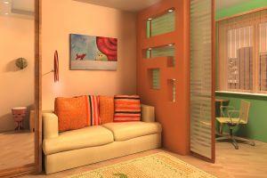 Пять оригинальных решений правильного зонирования комнаты