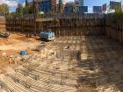 ЖК Гагарин - ход строительства, фото 105, Октябрь 2019