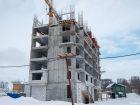 Ход строительства дома № 1 в ЖК Книги - фото 31, Февраль 2021