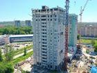 Ход строительства дома № 1 первый пусковой комплекс в ЖК Маяковский Парк - фото 20, Июнь 2021