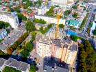 ЖК ПАРК - ход строительства, фото 4, Сентябрь 2020