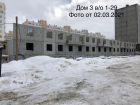 Ход строительства дома № 3 в ЖК Корабли - фото 32, Март 2021
